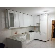 """Белая кухня в стиле """"классика"""" посмотреть"""