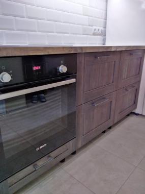 """Кухня на заказ в ЖК """"Грюнвальд"""""""