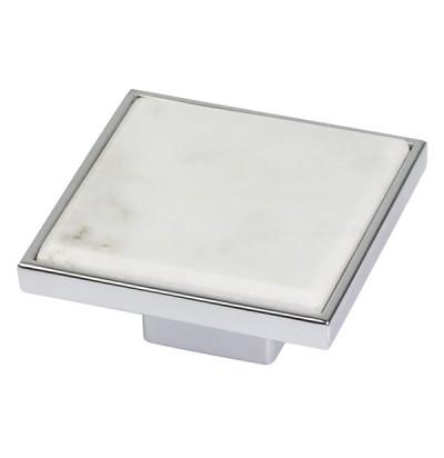 Ручка Ferro Fiori D 4320.016 хром мрамор Carrara