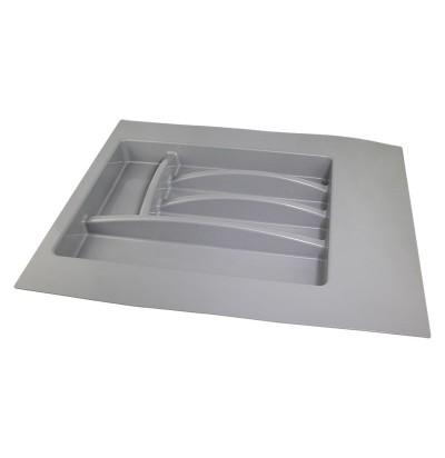 Лоток для столовых приборов 400-450мм серый Италия