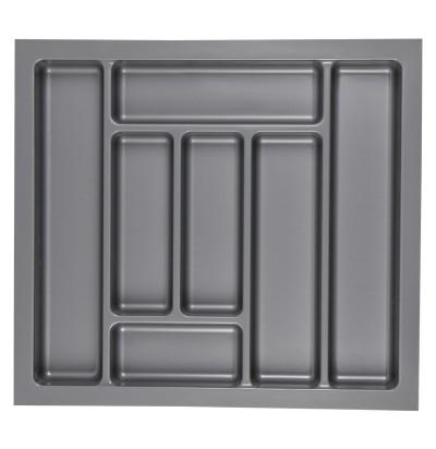 Лоток для столовых приборов (Украина) 600 серый (Ш530хГ480хВ45мм)